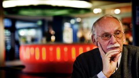 Rolf Skår har både vært direktør ved Norsk romsenter, datagründer og nå meierigründer.                   Foto: Per Ståle Bugjerde