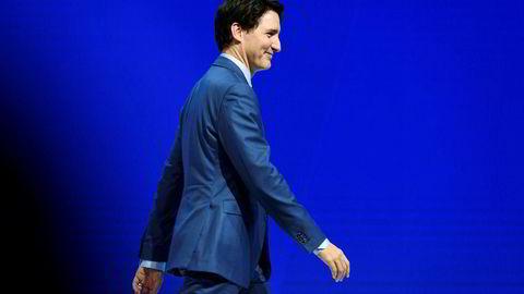Canadas statsminister Justin Trudeau får jobben med å hindre G7-kollaps. Foto: FABRICE COFFRINI/AFP/NTB scanpix