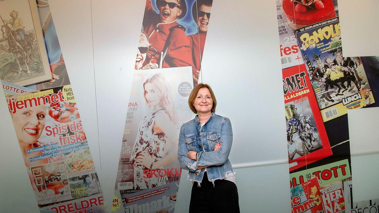 Elisabeth Lund-Andersen - Direktør/Ansvarlig redaktør i Egmont Publishing,