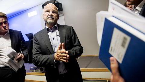 Styreformann i Opera Software, Sverre Munck. Foto: Gorm K. Gaare