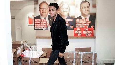 Valgkampen i Sverige er over. Nå starter kampen om makten. Leder Philip Botström for Socialdemokraternas ungdomsparti håper de får fire nye år i regjering.
