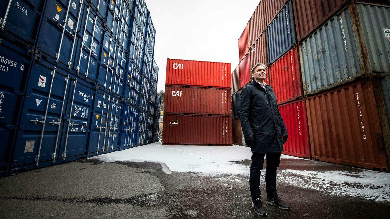 – Vi har laget en software som leser informasjonen mellom de ulike tilbyderne av fraktgods, sier daglig leder Knut Fredrik Ramstad i Mixmove.