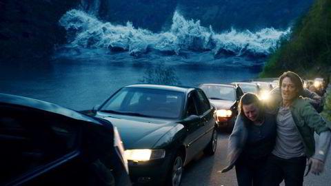 Kristoffer Joner fra katastrofefilmen Bølgen. Foto: Fantefilm Fiksjon