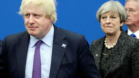 Boris Johnson var inntil i sommer utenriksminister i statsminister Theresa Mays regjering. Han fortsetter kampen for en «hard» brexit fra utsiden av regjeringen.