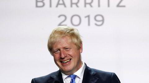 Det er fortsatt kompliserte spørsmål som må løses før en ny brexitavtale er mulig, men Boris Johnson ser ut til å ha gjort et positivt inntrykk den siste uken, blant annet på G7-møtet i Biarritz, der dette bildet ble tatt. Foto: François Mori / AP / NTB scanpix