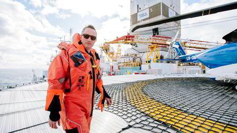 Statoils letedirektør for norsk og britisk sokkel Jez Averty var optimistisk foran sommerens letekampanje da han besøkte boreriggen «Songa Enabler» i Barentshavet i vår.