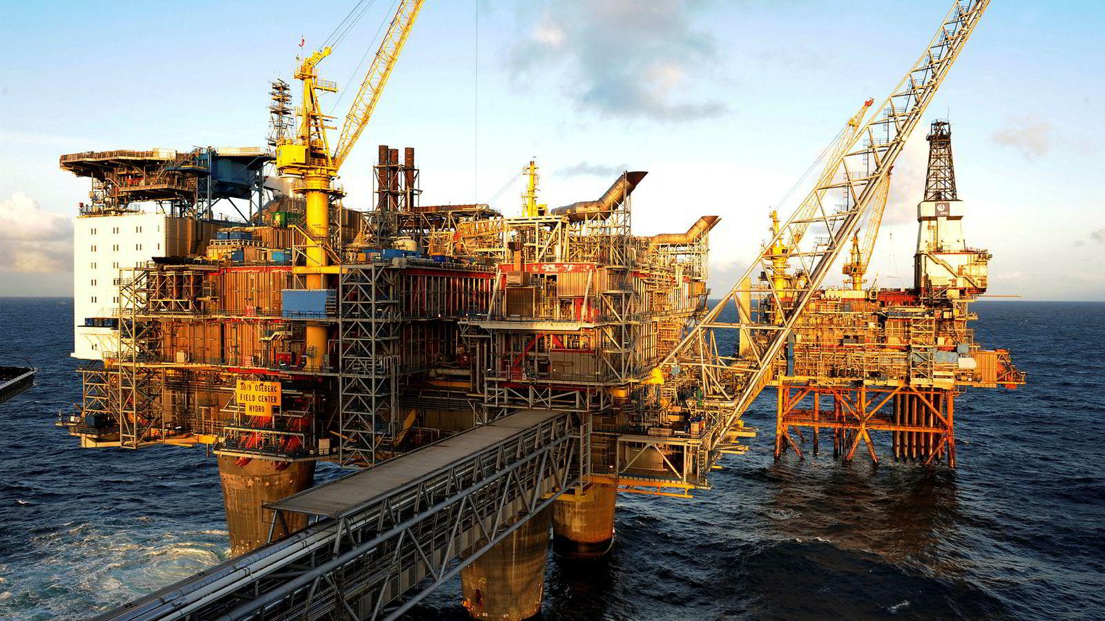 Oseberg er et olje- og gassfelt i norsk sektor av Nordsjøen.