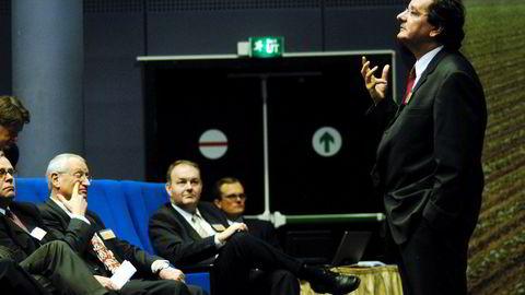 Daniel Clauw ble frifunnet for tiltalen om grov korrupsjon i lagmannsretten i 2017. Bildet er tatt på en kapitalmarkedsdag i 2003.