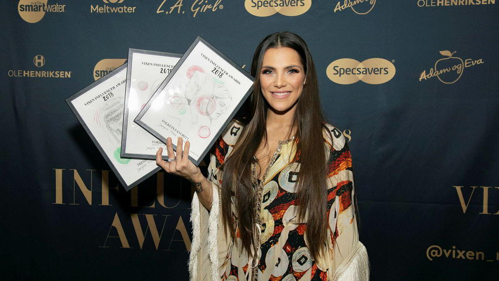 Jørgine «Funkygine» Massa Vasstrand er en av influenserne i Egmont People-satsingen. Hun vant nylig tre priser under årets Vixen Influencer Awards.