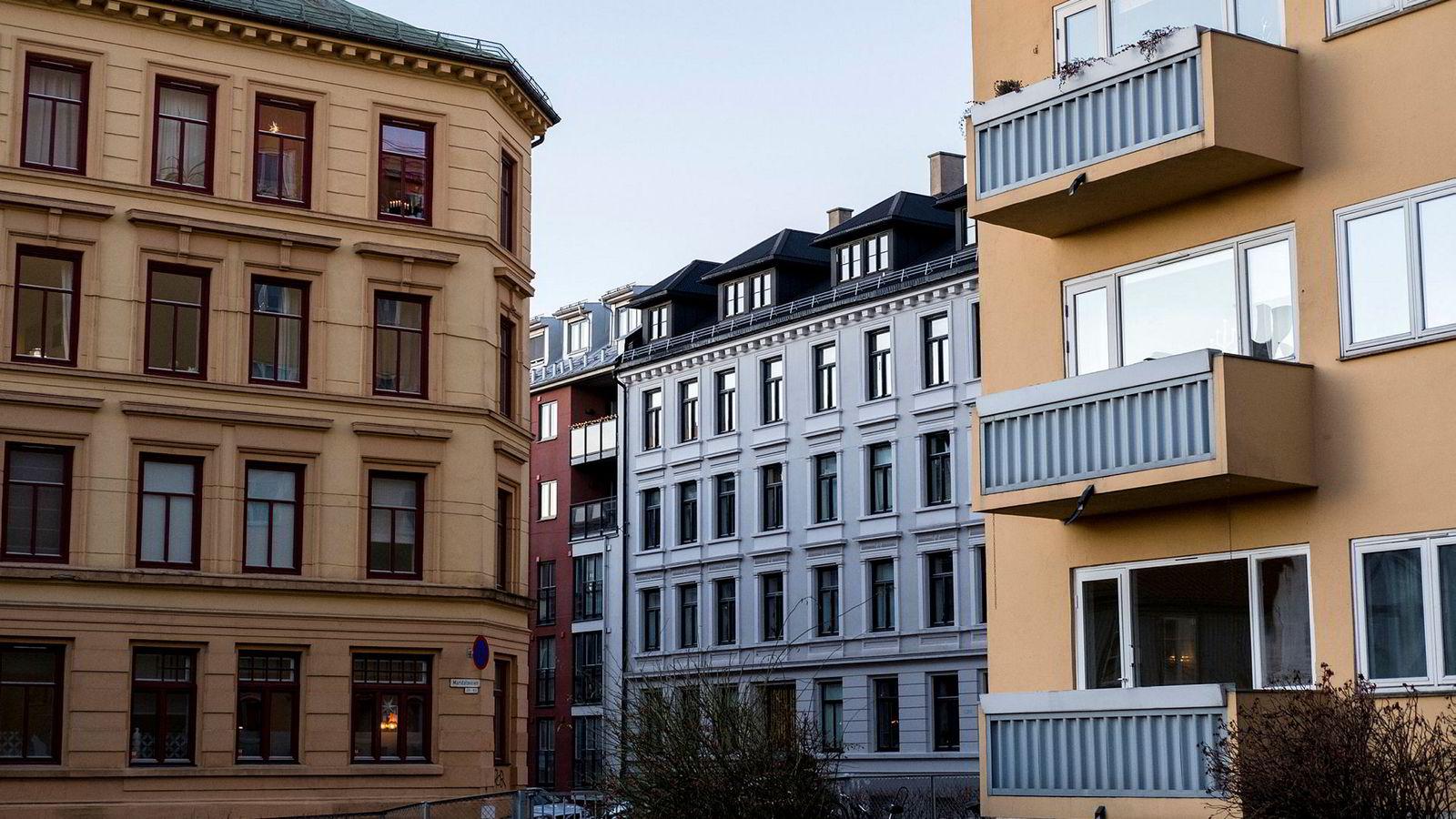 Boliger i Oslo.