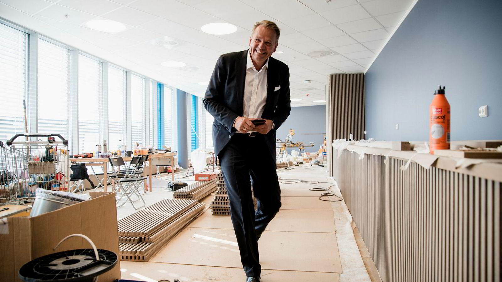 Ole Ertvaag er energibunten som har tjent seg rik på kjøp og salg av selskaper i regi av Hitecvision.