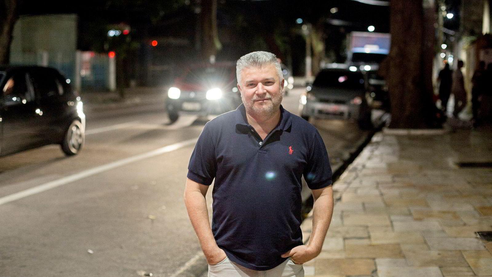 Marcelo Lima, forsker ved Instituto Evandro Chagasm, er mannen bak rapportene som gir Hydro betydelig hodebry. Anklagene om giftig utslipp fra Alunorte-anlegget fortsetter.
