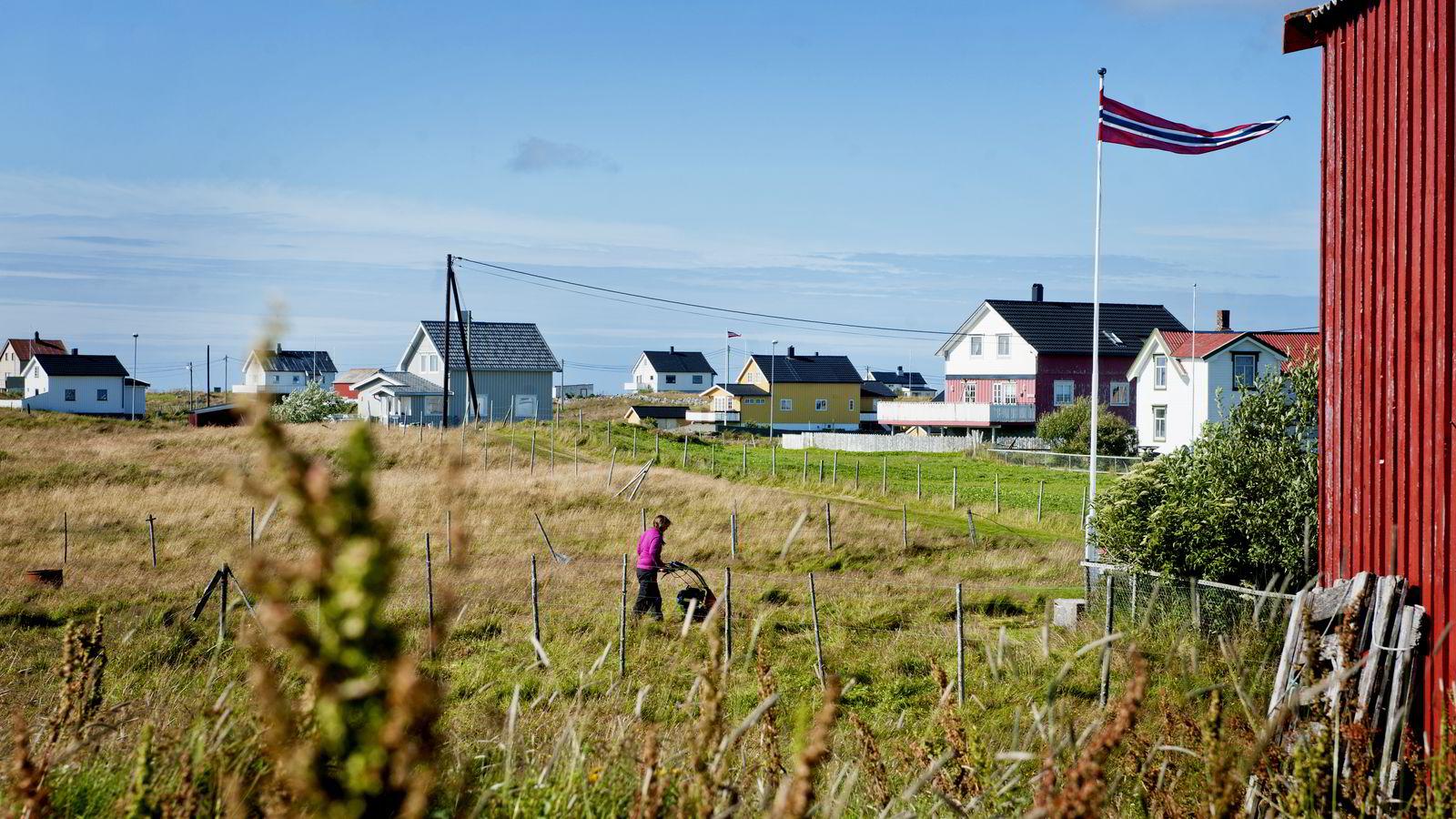 Røst kommune har hatt en befolkningsreduksjon på 20 prosent de siste femten årene.