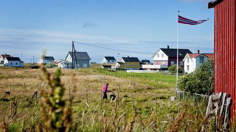 Røst kommune har hatt en befolkningsreduksjon på 20 prosent de siste femten årene. Foto: Silje Eide