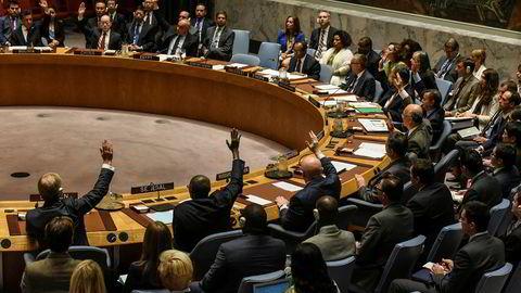 Her stemmes det om nye sanksjoner mot Nord-Korea under møtet i FNs sikkerhetsråd.