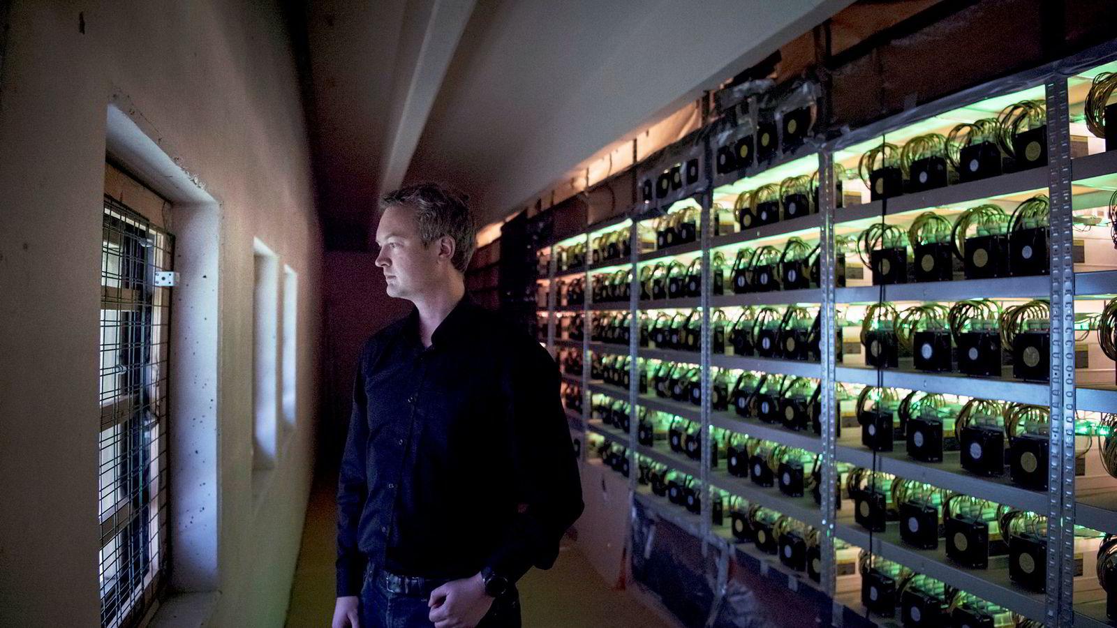 – De har sett potensialet i markedet og i dette selskapet, sier administrerende direktør Kjetil Hove Pettersen i Kryptovault.