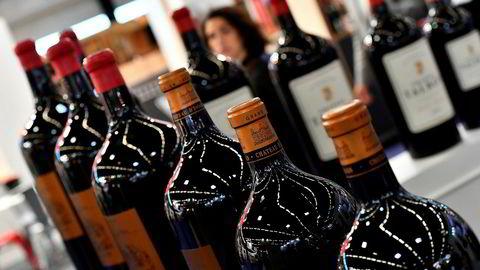 Fransk vin risikerer nå høyere tollsatser ved eksport til USA.