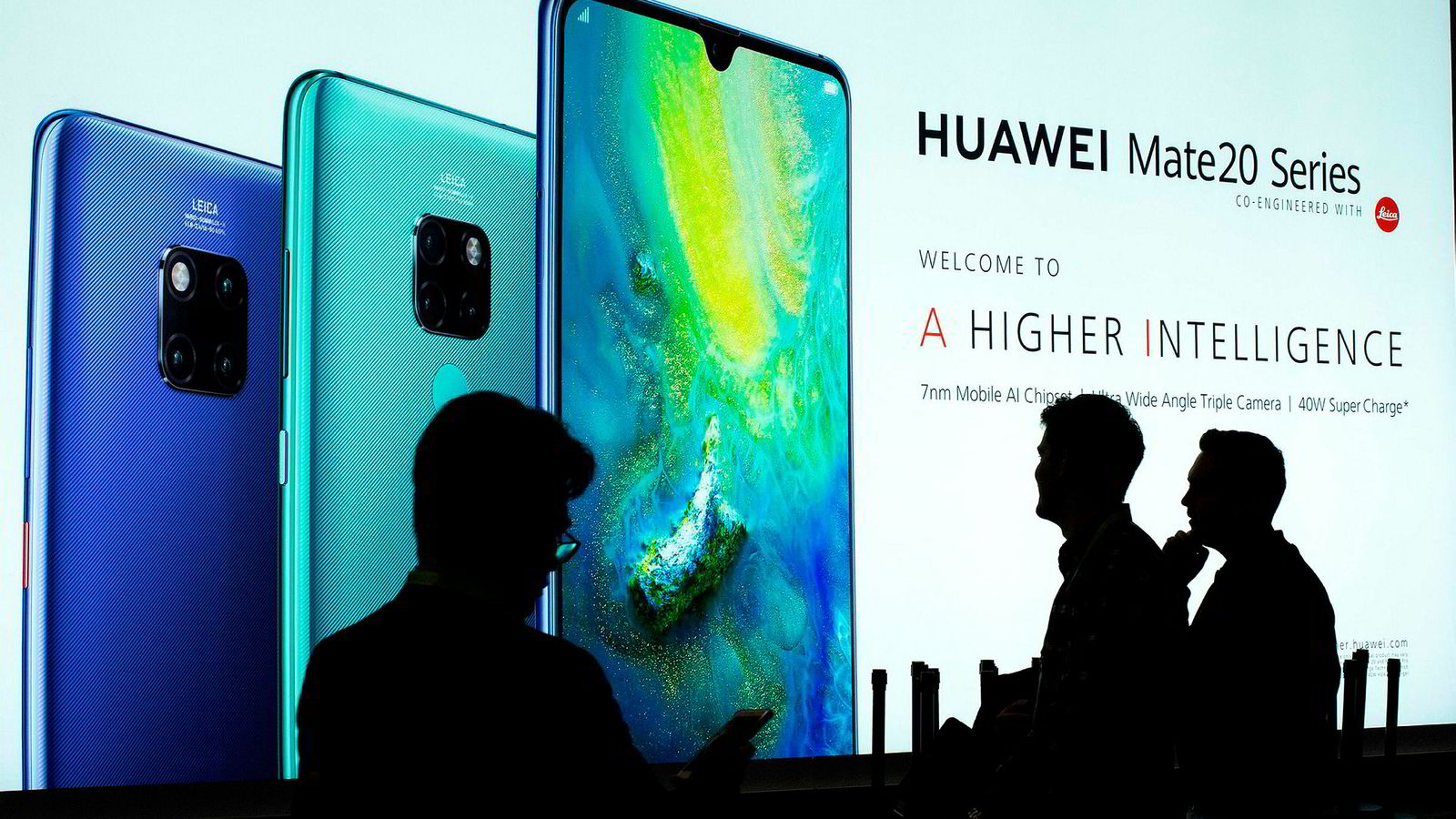 Kinesiske Huawei nektes å være med i anbud om å bygge ut 5G-nettverk i en rekke land.