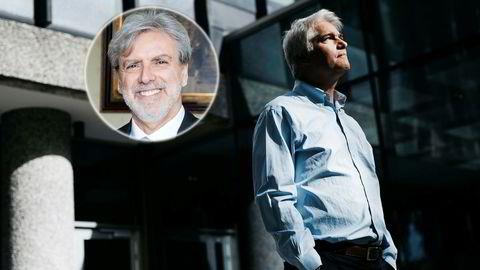 Italias ambassadør Alberto Colella (til venstre) mener sjeføkonom Øystein Dørum i NHO tegner et for negativt bilde av italiensk økonomi.