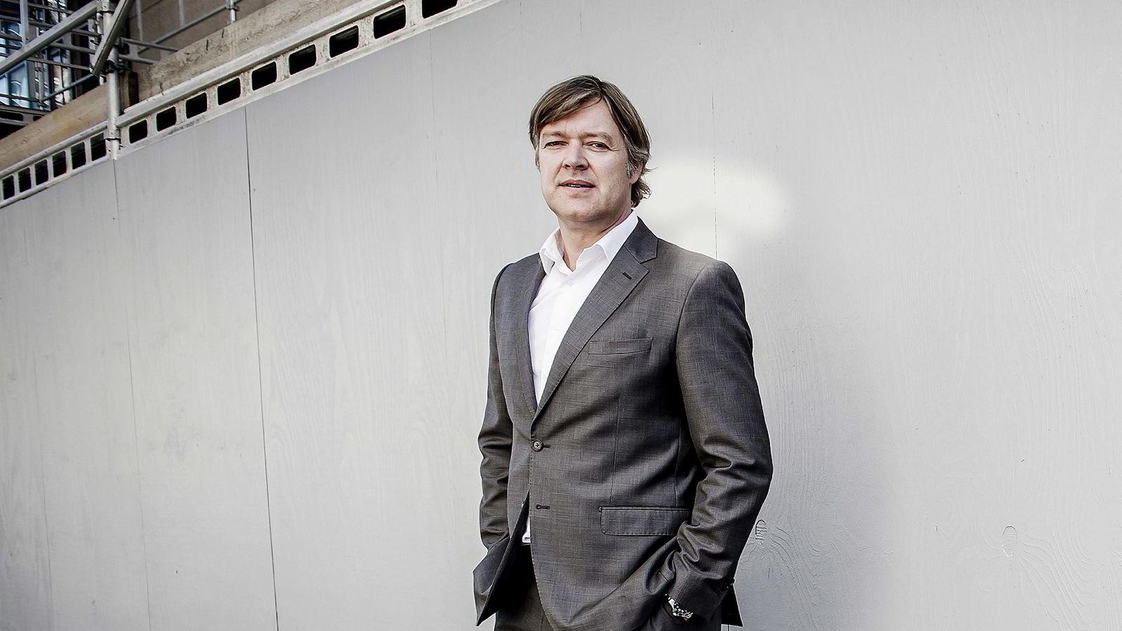 Toppsjef i Opera Lars Boilesen. Boilesens aksjer og opsjoner vil gi ham rundt 35 millioner kroner. Foto: Gorm K. Gaare
