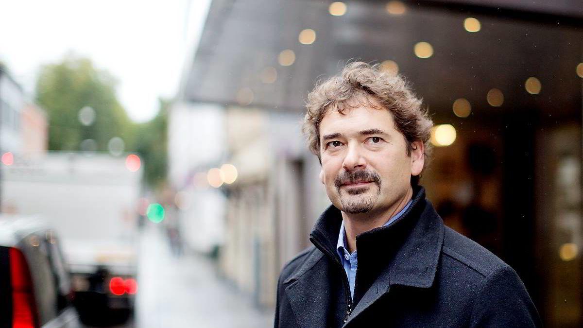 Opera-gründer Jon S. von Tetzchner bruker 30 mill. på ny nettleser. Foto: