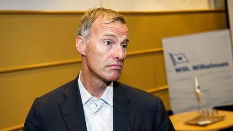 Petter Dragesund forklarer seg i Oslo tingrett. Han ønsker ikke å bli fotografert under rettssaken. Dette bildet er fra 2013.