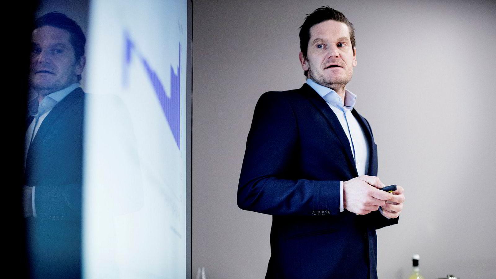 Sjeføkonom Kjetil Olsen i Nordea mener Norges Bank vil bli bekymret dersom boligprisene fortsetter å øke slik de har gjort hittil i år.