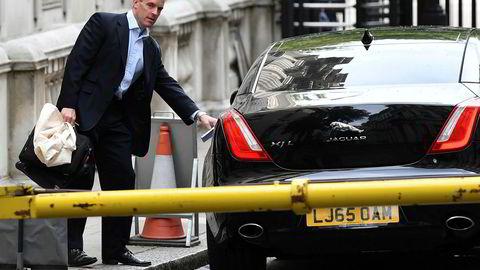 Brexit-minister Dominic Raab har dårlig tid, og han sier nå at tidsfristen for brexit kan ryke.