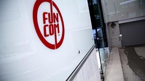Funcom er et av selskapene som er i en stigende trend. Foto: