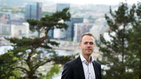 DNB Eiendoms undersøkelse viser at hver tredje boligkjøper foretrekker helt ny, eller relativt ny bolig. På bildet er nybyggsjef Jørn Are Skjelvan i DNB Eiendom.