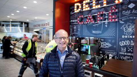 Deli de Luca-toppsjef Tormod Lier har de siste årene jobbet med å utvide Deli de Luca-konseptet til bensinstasjoner, med gode resultater.