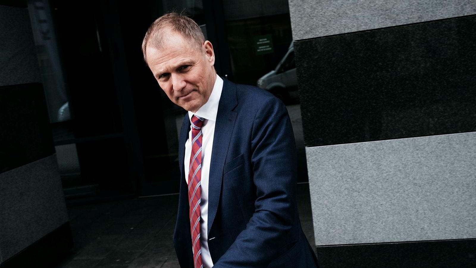 Lars Christian Bacher, finansdirektør i Equinor.