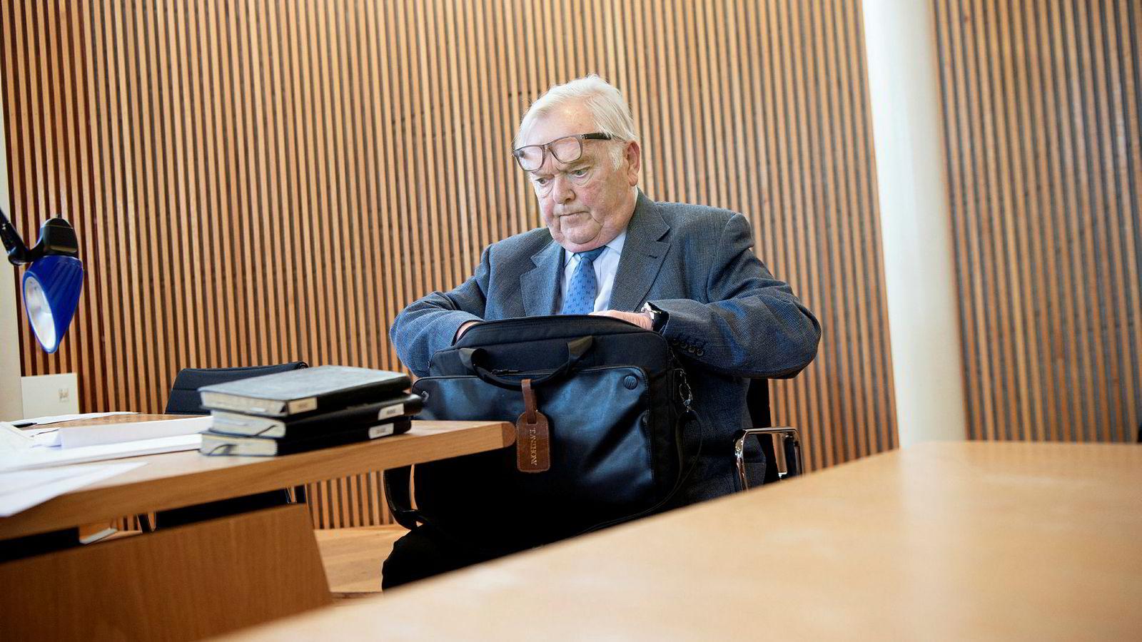 Mange års håndskrevne dagbøker hjalp ikke Herbjørn Hansson i rettssaken mot hans tidligere finansdirektør og høyre hånd, Turid Moe Sørensen.