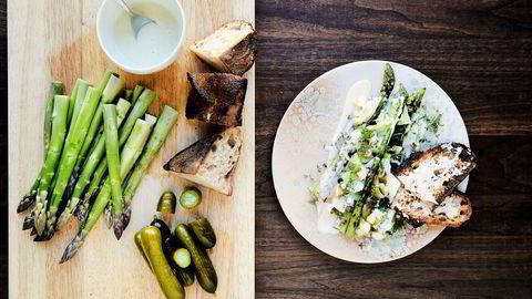 Med få ingredienser lager kokken Björn Svensson raske retter til late sommerdager