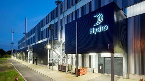 Hydro Grevenbroich i Tyskland legger ned deler av virksomheten.