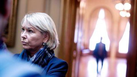 Næringsminister Monica vil se på utfordringene i konkurransen mellom det private og det offentlige. Foto: Ida von Hanno Bast