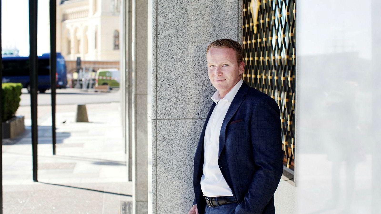 Analysesjef i Sparebank 1 Markets Lars-Daniel Westby er sammen med analytiker Petter Kongslie ansvarlig for Sparebank 1 Markets' ukeportefølje i DNs porteføljekonkurranse.