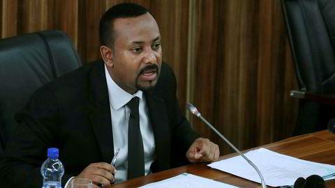 Etiopia er blant landene som har signert frihandelsavtalen. Her er landets statsminister Abiy Ahmed.