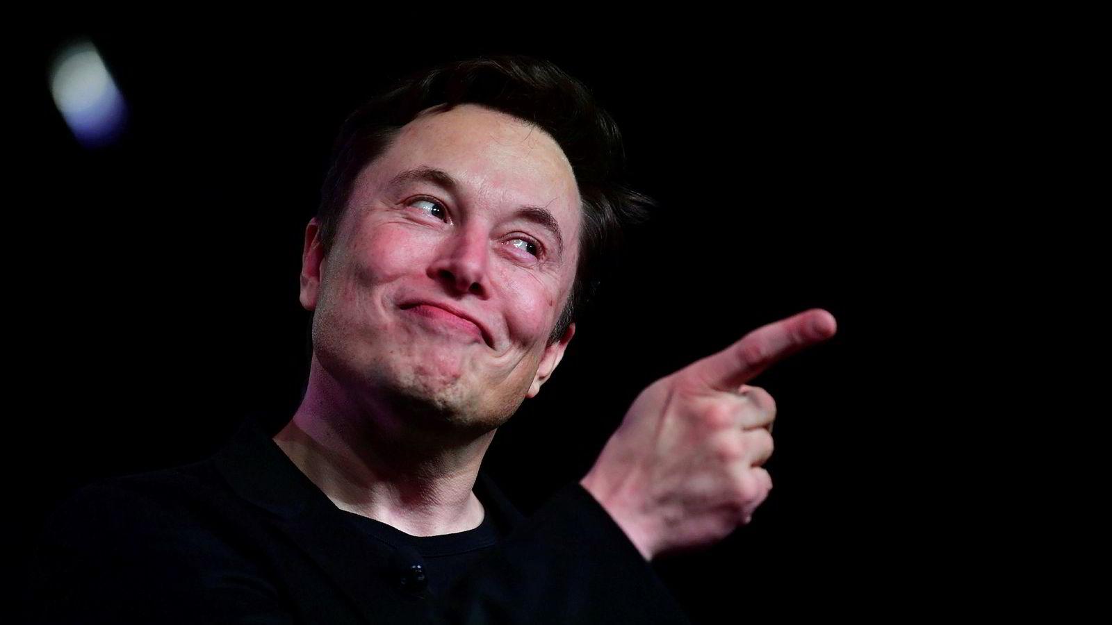 Tesla-sjef Elon Musk var frittalende på tirsdagens aksjonærmøte.