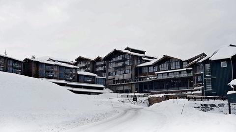 Danske Bank eier gigantanlegget på Bøeseter Spa & Resort på Norefjell. Nå selges leilighetene unna til lavere pris. Foto: Espen Braata