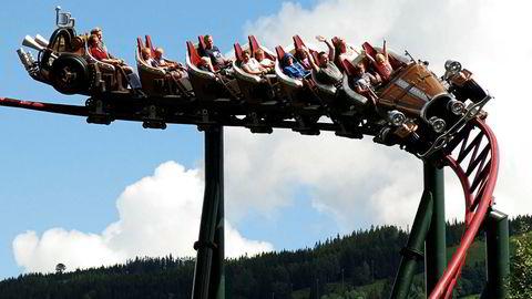 Berg-og-dal-banen Il Tempo Extra Gigante. Nå har Hunderfossen vunnet over Caprino.