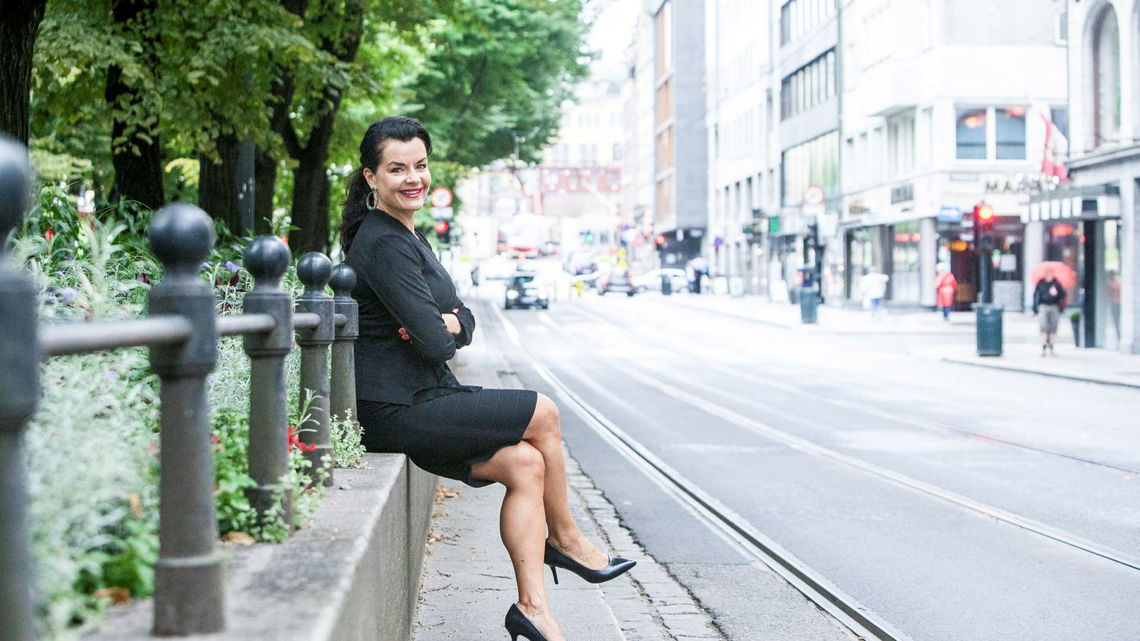Elina Krantz er eier og faglig leder av humorselskapet Stand up Norge.