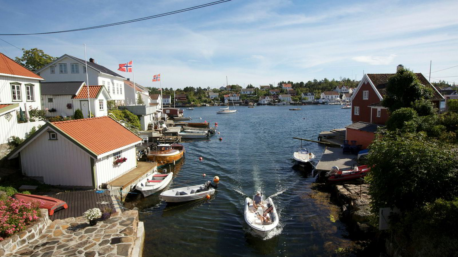 Øysamfunnet Lyngør i Tvedestrand kommune, Aust Agder.