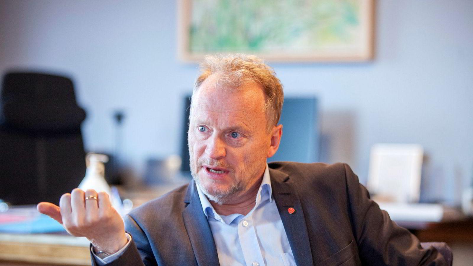 Oslos byrådsleder Raymond Johansen drar Arbeiderpartiets kamp mot private i velferden enda et hakk lenger.