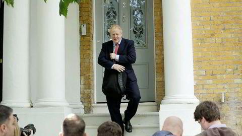 Boris Johnson er en mye omdiskutert personlighet i Storbritannia, men i forkant av valget pekte alle piler i hans retning.