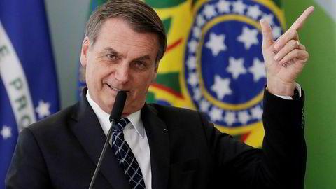 Brasils president Jair Bolsonaro slår kraftig tilbake etter at Norge kutter adskillige regnskogs-millioner til Brasil. – Norge har ingenting å tilby oss.