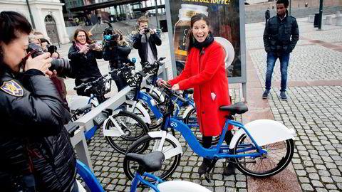 Samferdselsbyråd i Oslo Kommune, Lan Marie Nguyen Berg fra Miljøpartiet De Grønne (MDG)  Foto: