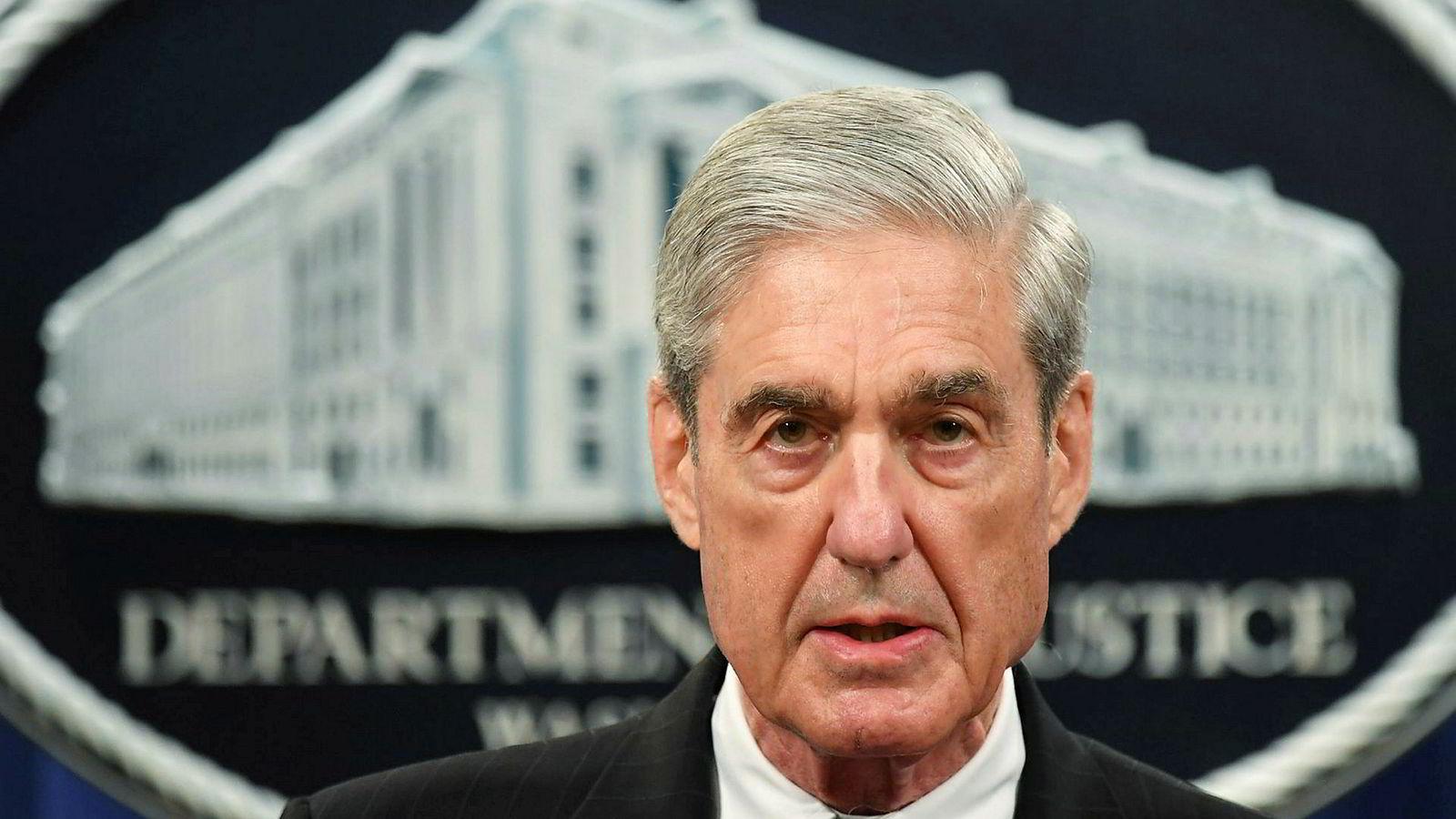 Skal utspørres: Spesialetterforsker Robert Mueller vil få tre istedenfor to timer foran justis- og etterretningskomiteene.