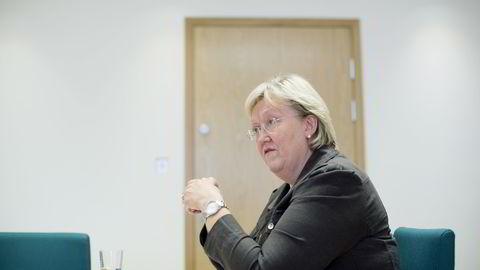 Europaminister Elisabeth Aspaker (H). FOTO: