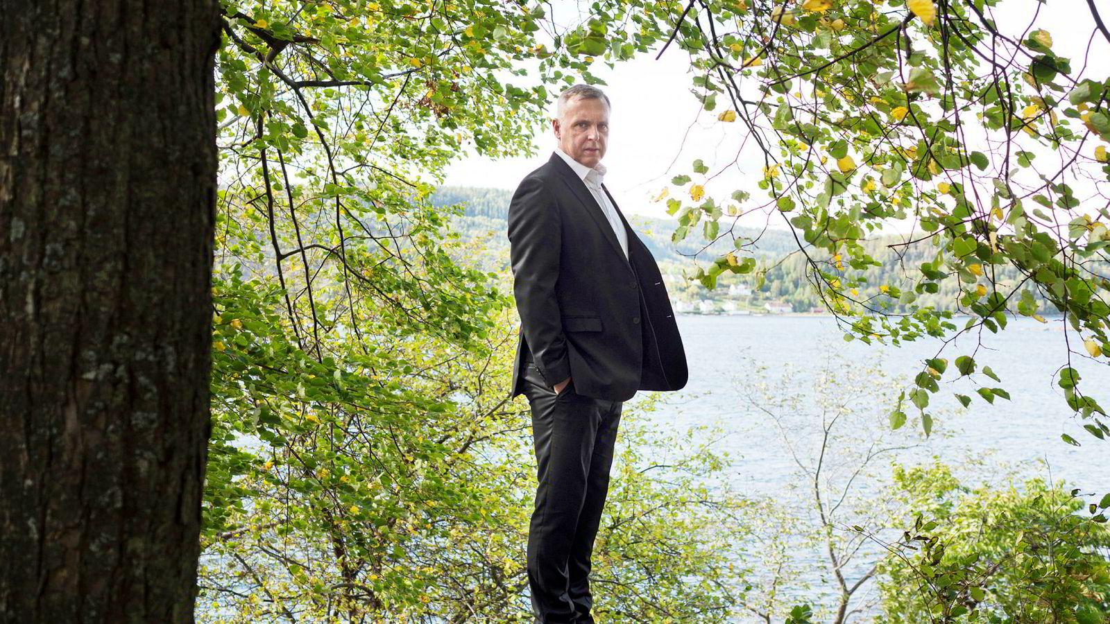 Sven Ombudstvedt, tidligere konsernsjef i Norske Skog.